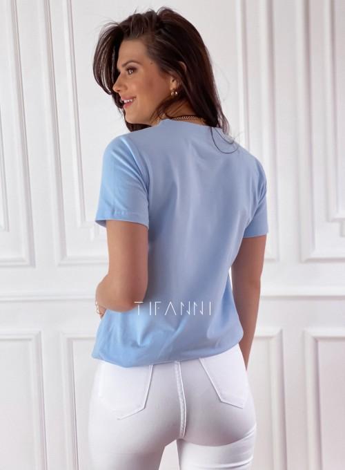 T-shirt Carmela blue 4