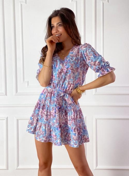 Sukienka Ammy w pastelowych kolorach 6