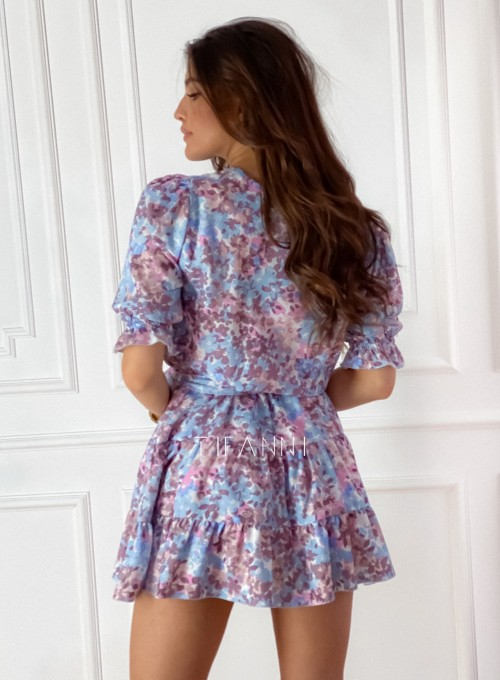 Sukienka Ammy w pastelowych kolorach 7