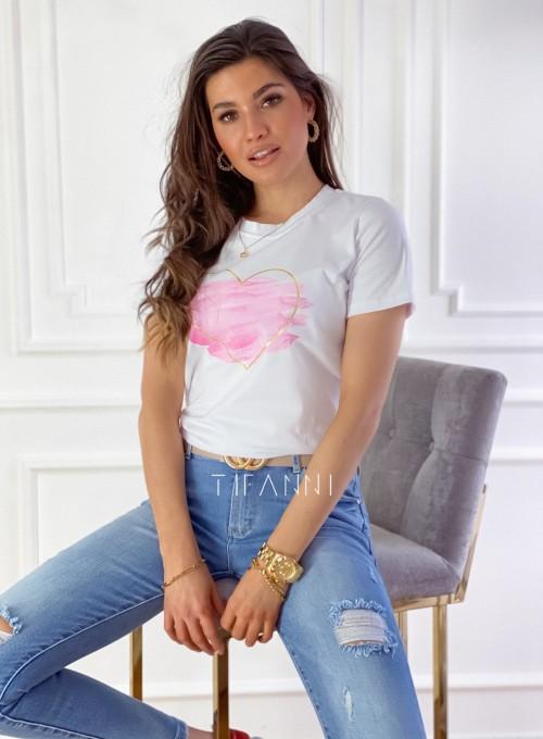 T-shirt Carmela biały 2