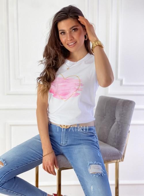 T-shirt Carmela biały 3