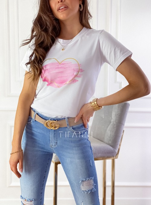 T-shirt Carmela biały 1