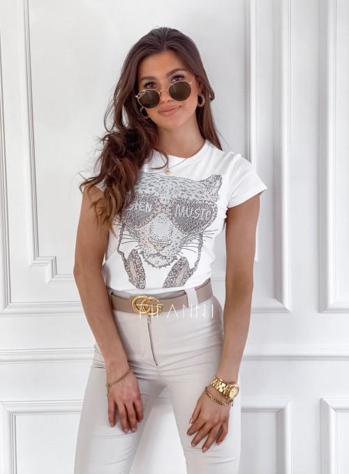 T-shirt Tiger biały 2