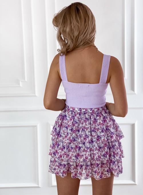 Bluzka Top Sami lila 2
