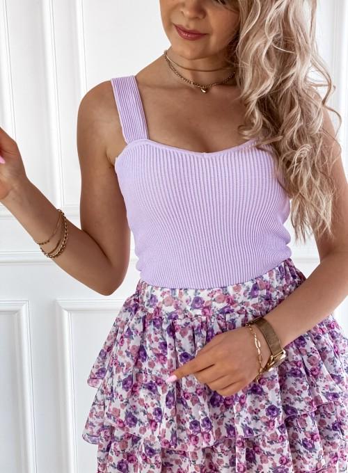 Bluzka Top Sami lila 1