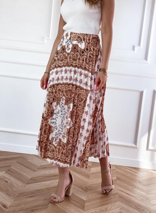 Spódnica plisowana wzorzysta Sofia 3