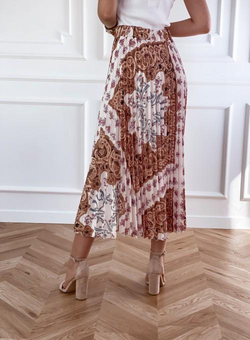 Spódnica plisowana wzorzysta Sofia 1