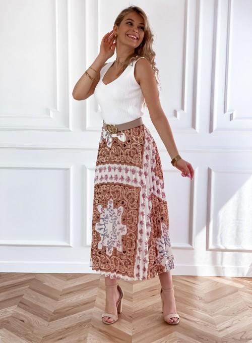 Spódnica plisowana wzorzysta Sofia 4