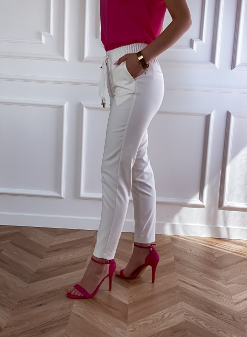 Spodnie Lavia śmietankowe 1