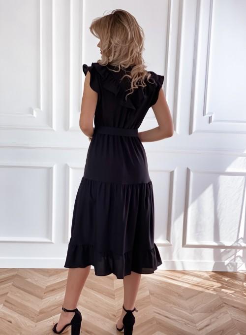 Sukienka Zaxi czarna 2