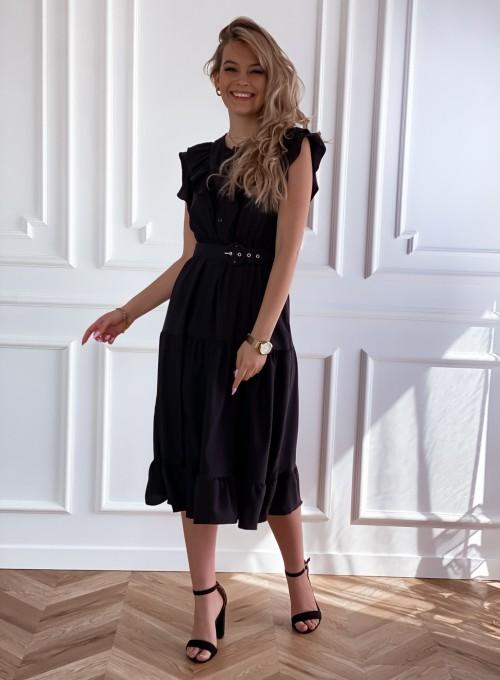 Sukienka Zaxi czarna 4