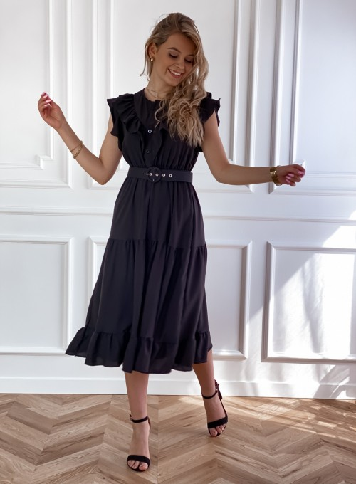 Sukienka Zaxi czarna 6