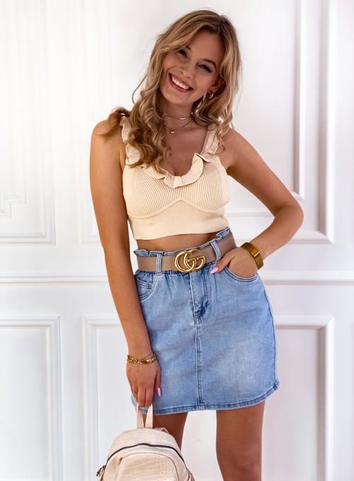 Spódnica Jeansowa Rivio 3