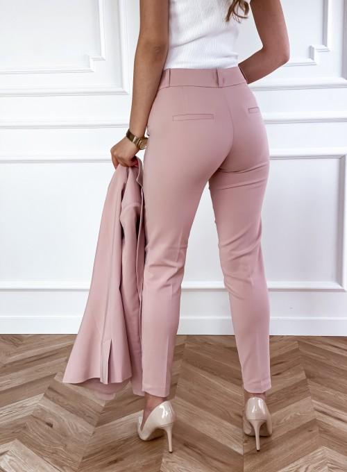 Spodnie Bonni pudrowe 2