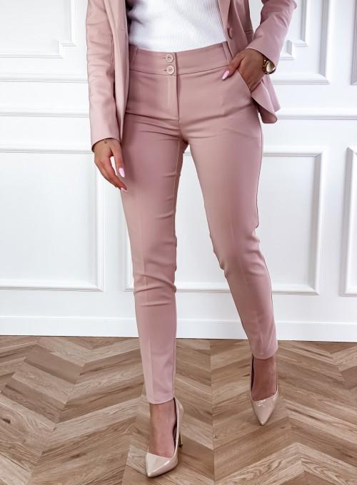 Spodnie Bonni pudrowe 3