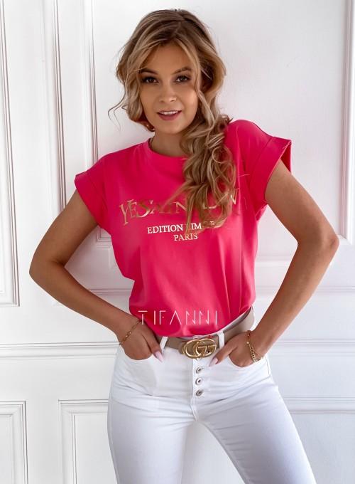 T-shirt Saint Love fuksja 4