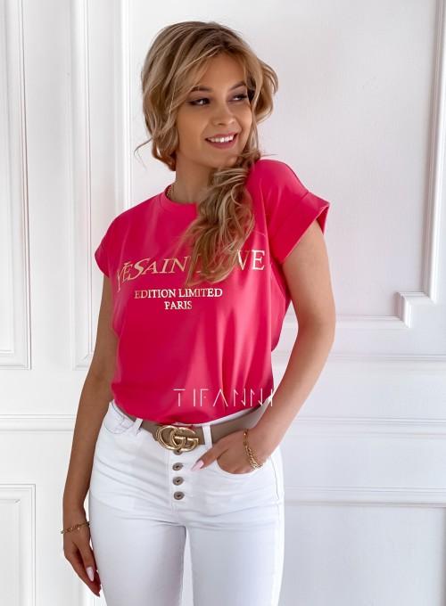 T-shirt Saint Love fuksja 5
