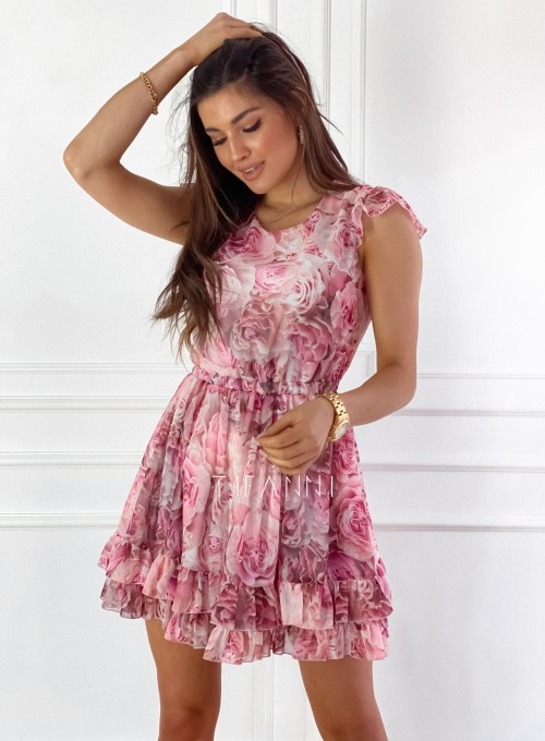 Zwiewna sukienka Passion rose 5