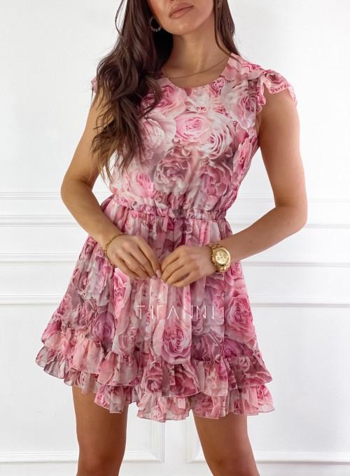 Zwiewna sukienka Passion rose 6