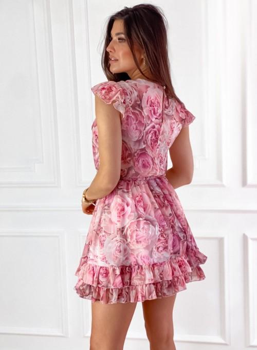 Zwiewna sukienka Passion rose 7