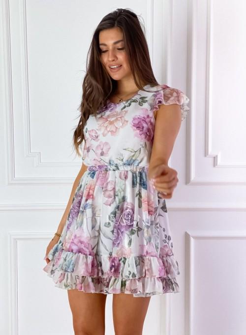 Zwiewna sukienka Passion flowers 4