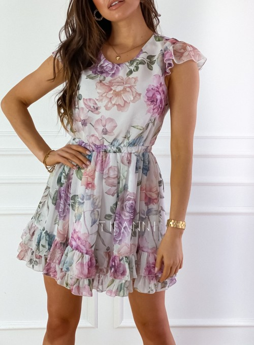 Zwiewna sukienka Passion flowers 2