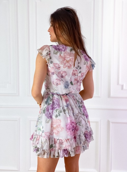 Zwiewna sukienka Passion flowers 7