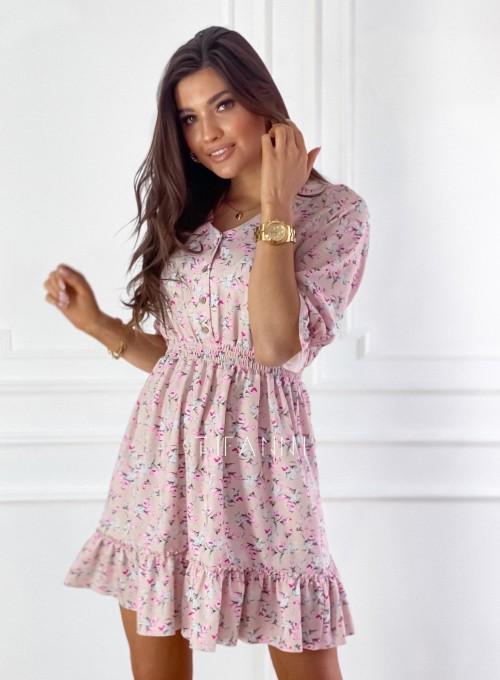 Sukienka z kwiatowym printem Bella 2