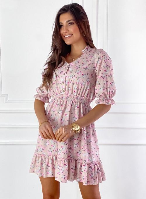 Sukienka z kwiatowym printem Bella 3