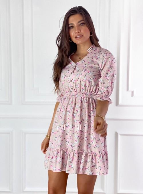Sukienka z kwiatowym printem Bella 4