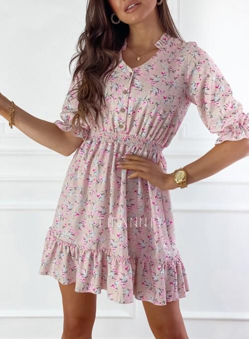 Sukienka z kwiatowym printem Bella 6