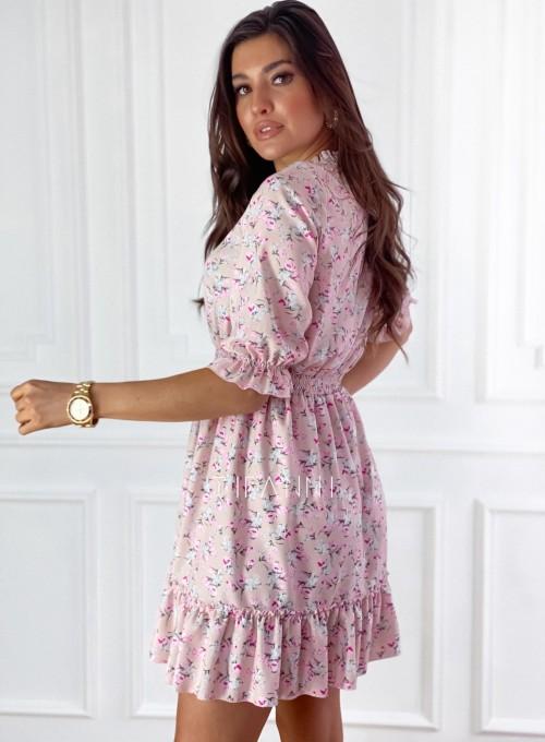 Sukienka z kwiatowym printem Bella 7