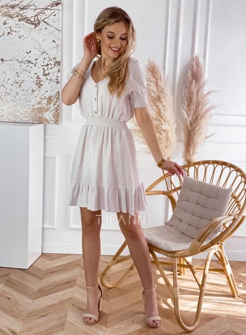 Bawełniana sukienka Nola 1