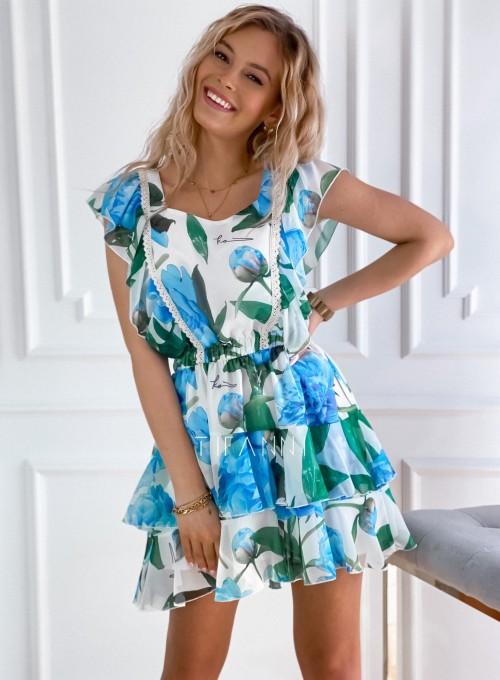 Sukienka z falbankami Mela 2