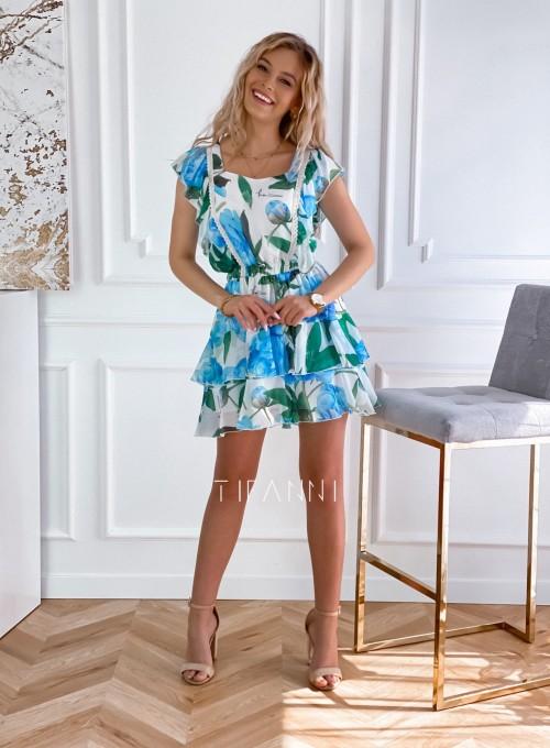 Sukienka z falbankami Mela 1