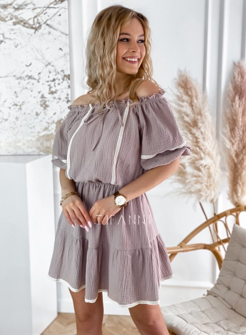 Bawełniana sukienka hiszpanka Linds