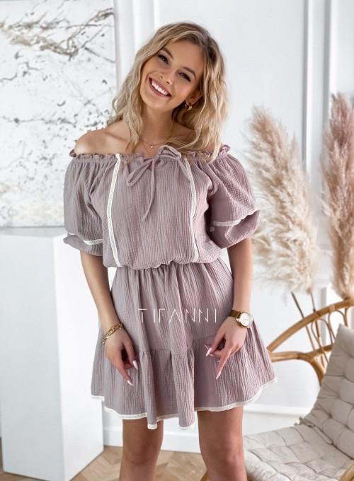 Bawełniana sukienka hiszpanka Linds 1