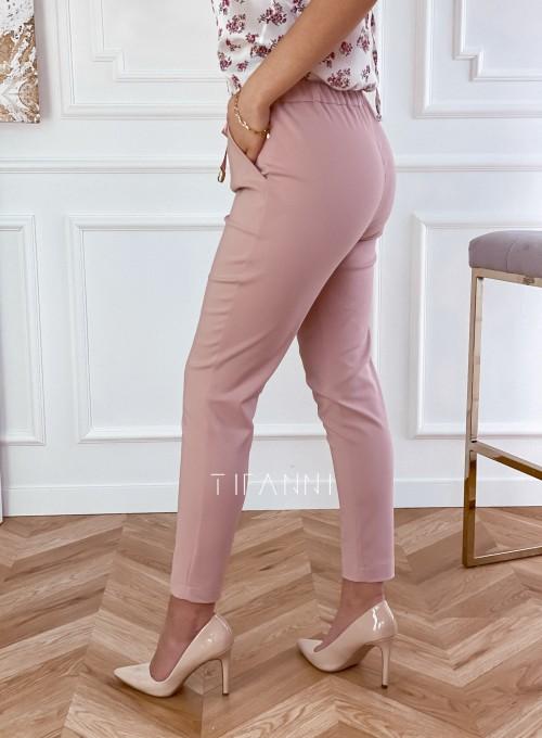 Spodnie Lavia pudrowe 2