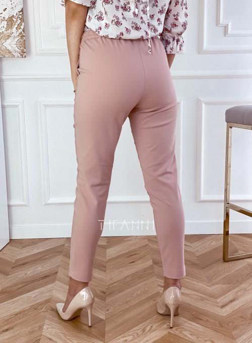 Spodnie Lavia pudrowe 3