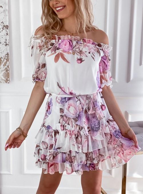 Zwiewna sukienka hiszpanka Cela 3