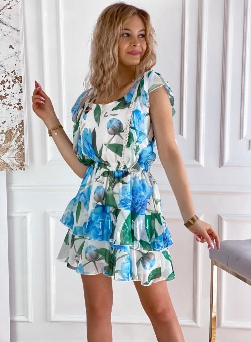 Sukienka z falbankami Mela 4