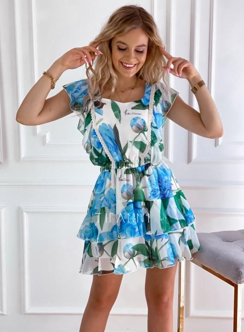 Sukienka z falbankami Mela 5