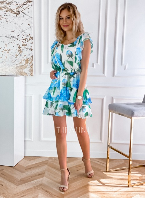 Sukienka z falbankami Mela 6