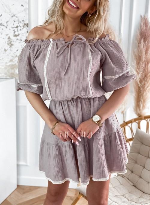 Bawełniana sukienka hiszpanka Linds 3