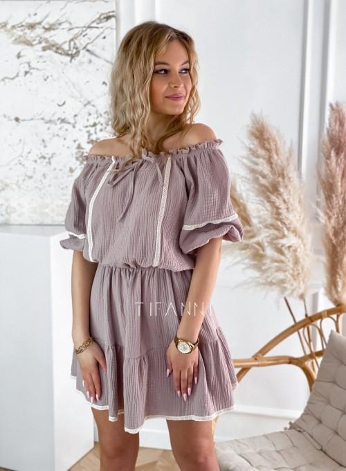 Bawełniana sukienka hiszpanka Linds 4