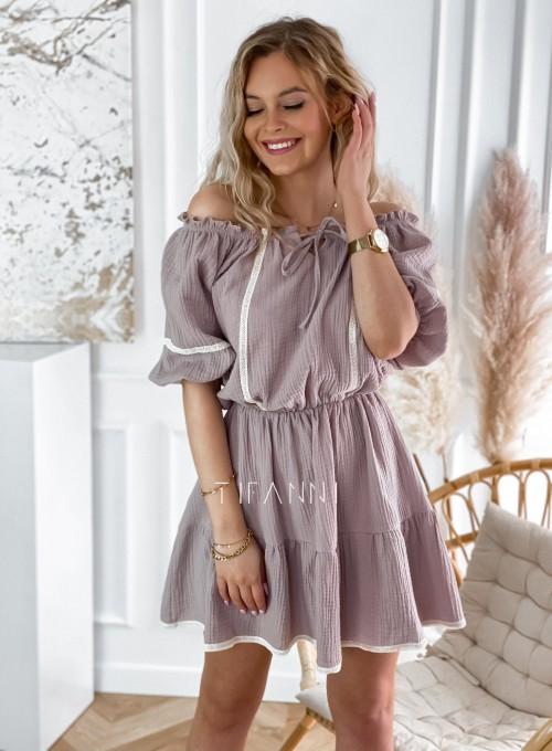 Bawełniana sukienka hiszpanka Linds 5
