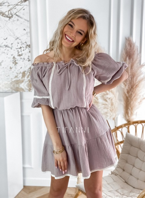 Bawełniana sukienka hiszpanka Linds 6