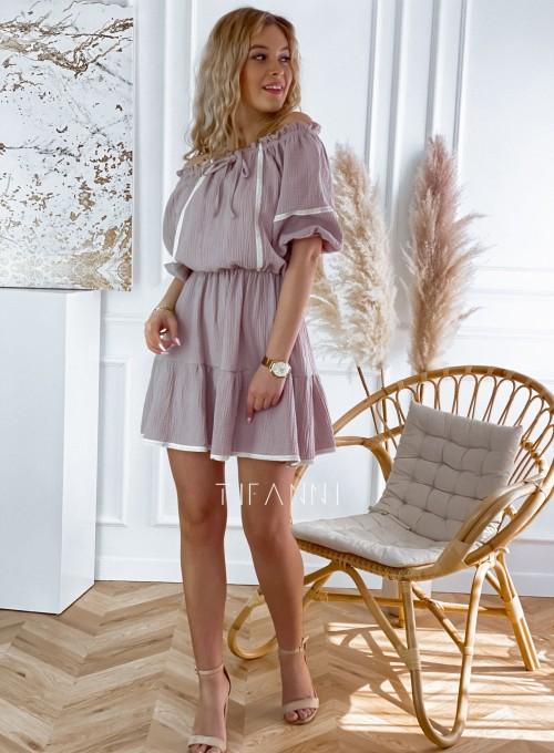 Bawełniana sukienka hiszpanka Linds 7