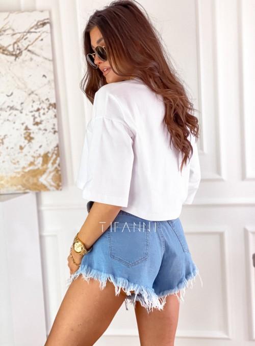 T-shirt Celina white 2