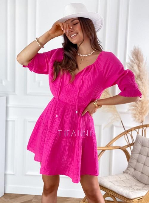 Sukienka Luci fuksja